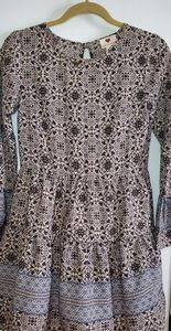 Blue almost paisley dress! Cute!!😍